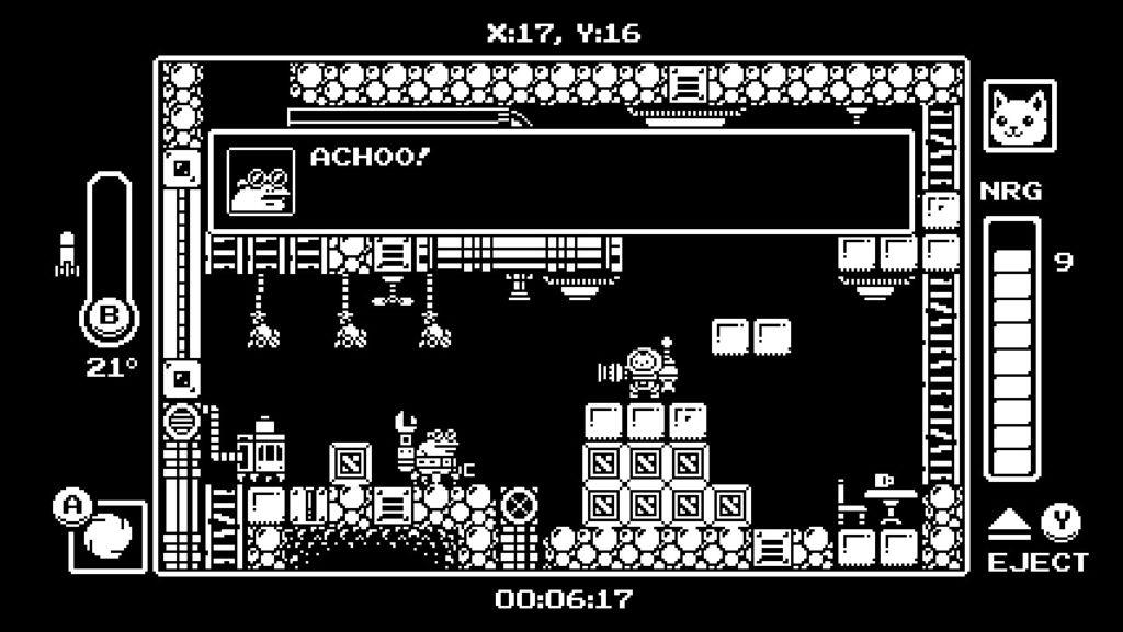 小粒ゲーム紹介6:Gato Roboto