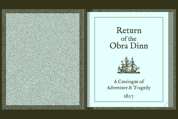 大粒ゲーム紹介8:Return of the Obra Dinn