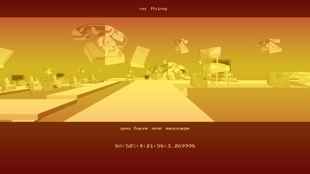 小粒ゲーム紹介34:NO THING