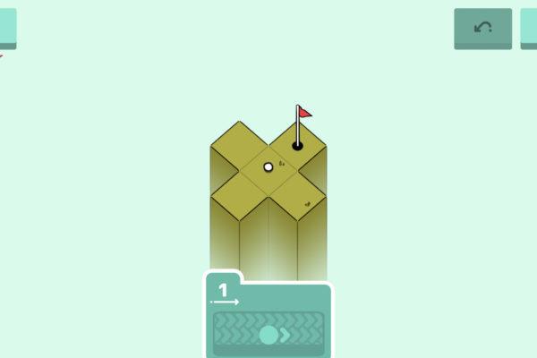 小粒ゲーム紹介37:Golf Peaks