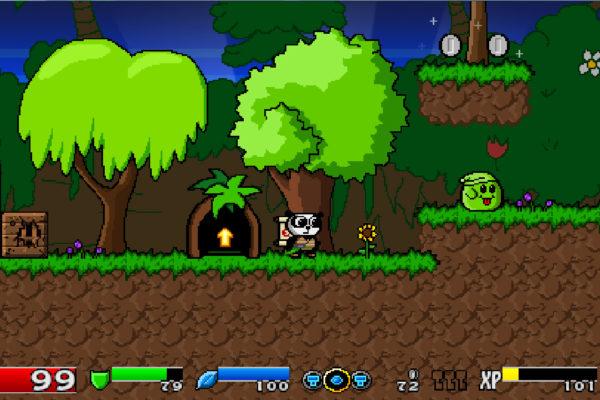 小粒ゲーム紹介56:Super Panda Adventures
