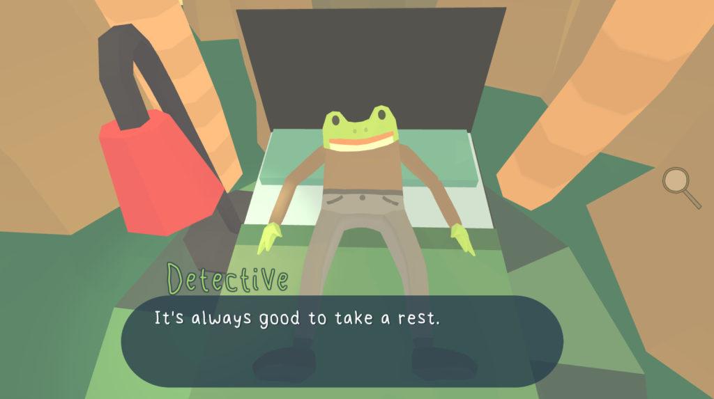 小粒ゲーム紹介71:The Haunted Island, a Frog Detective Game
