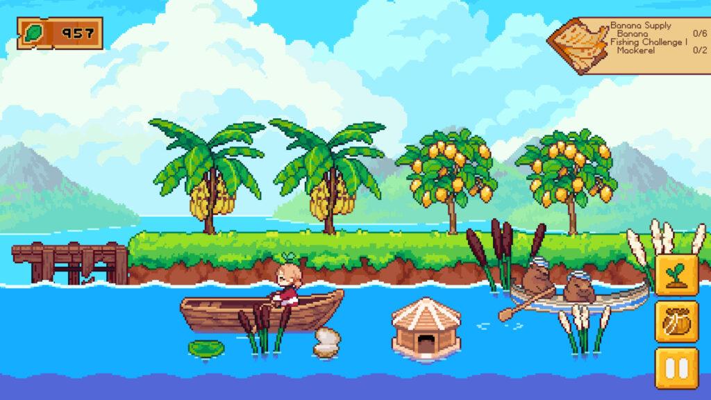 小粒ゲーム紹介91:Luna's Fishing Garden